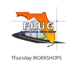 Thursday Oct. 25, 2018 Workshops